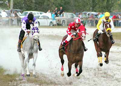 Easter horse race