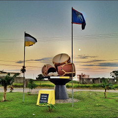 Drums of Our Fathers Monument Dangriga