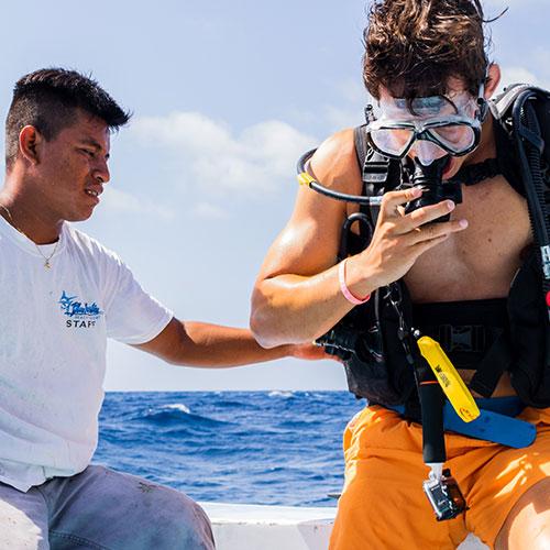 Belize diving certification