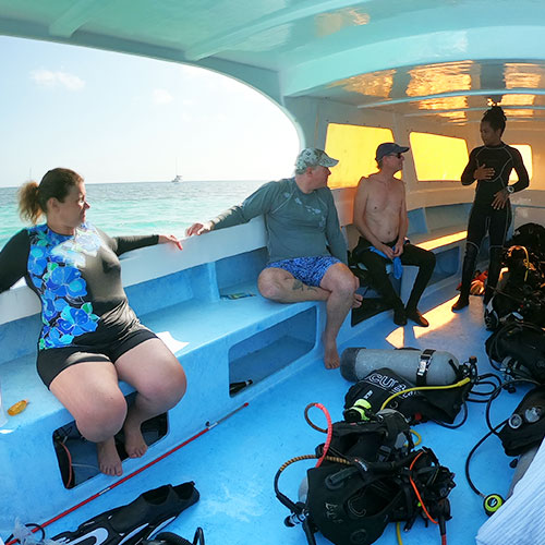Belize diving tours package
