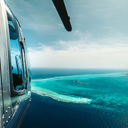 Belize inland adventure tours by air