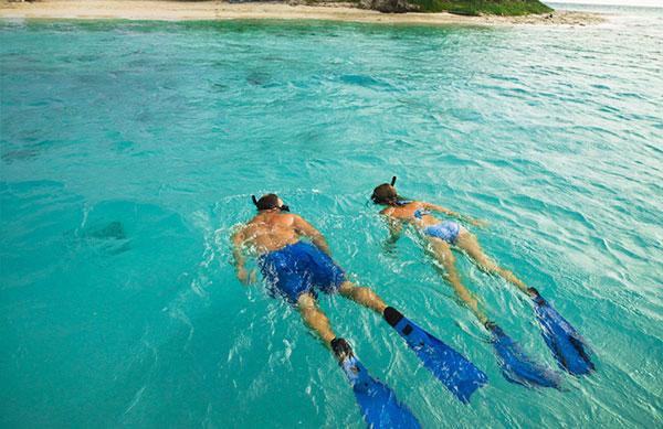 Belize Island Resort - snorkel