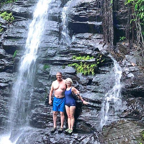 Belize jungle adventure tours waterfall