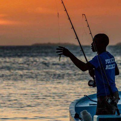 Belize reef bottom fishing tours