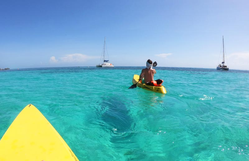 Belize Sailing Island Package