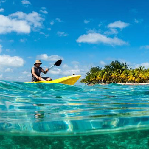 South Water Caye Island Amenities