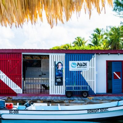 Belize island resort