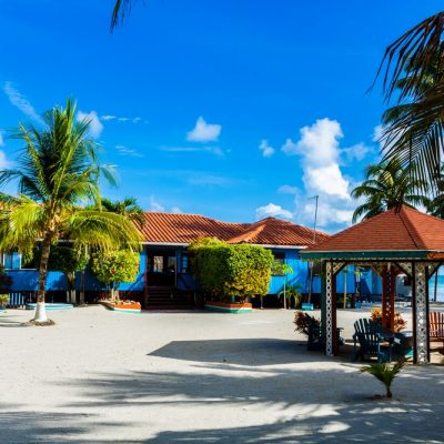 Belize island resort