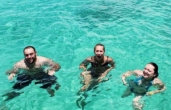 Belize private island resort - family