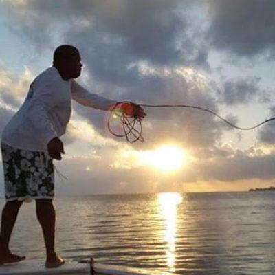 Belize private island resort - fishing