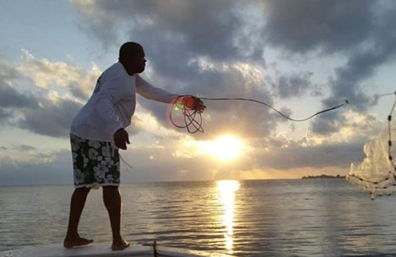 Belize private island resort - fishing