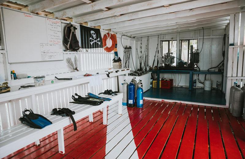 Belize Dive shop