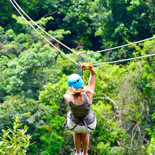 Belize jungle adventure tours zipline