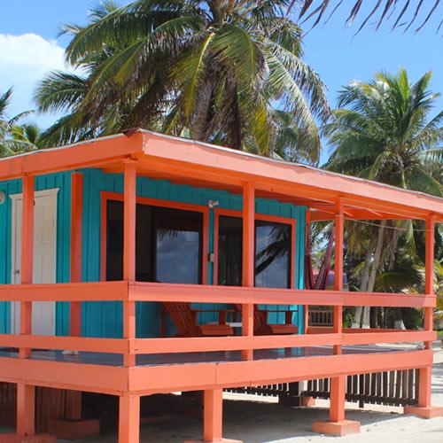 Belize private cabana