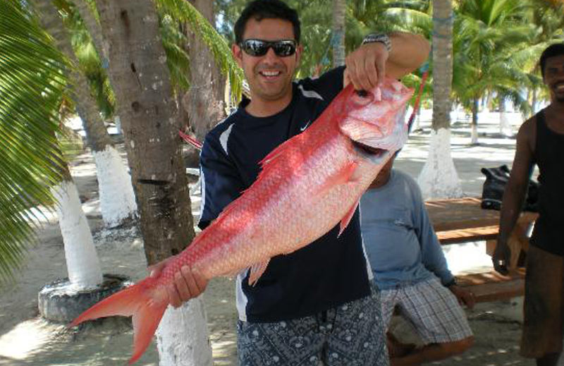 Belize reef fishing package