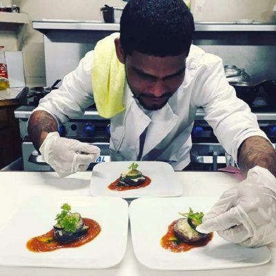 Belize dining fish