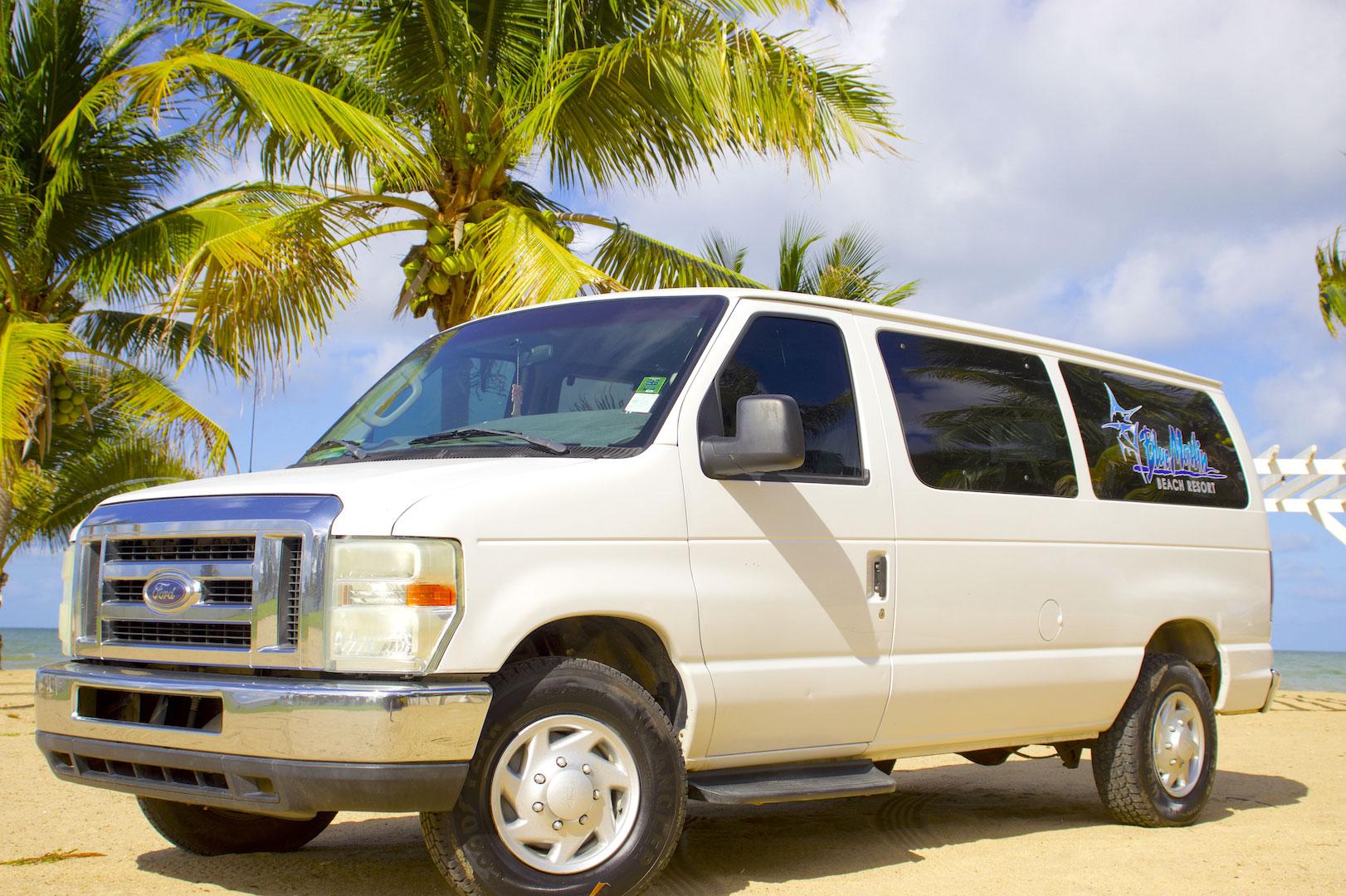 Getting here van
